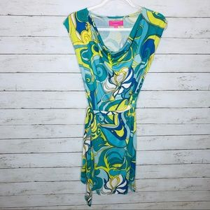 Trina Turk for Banana Republic dress XS silk blend